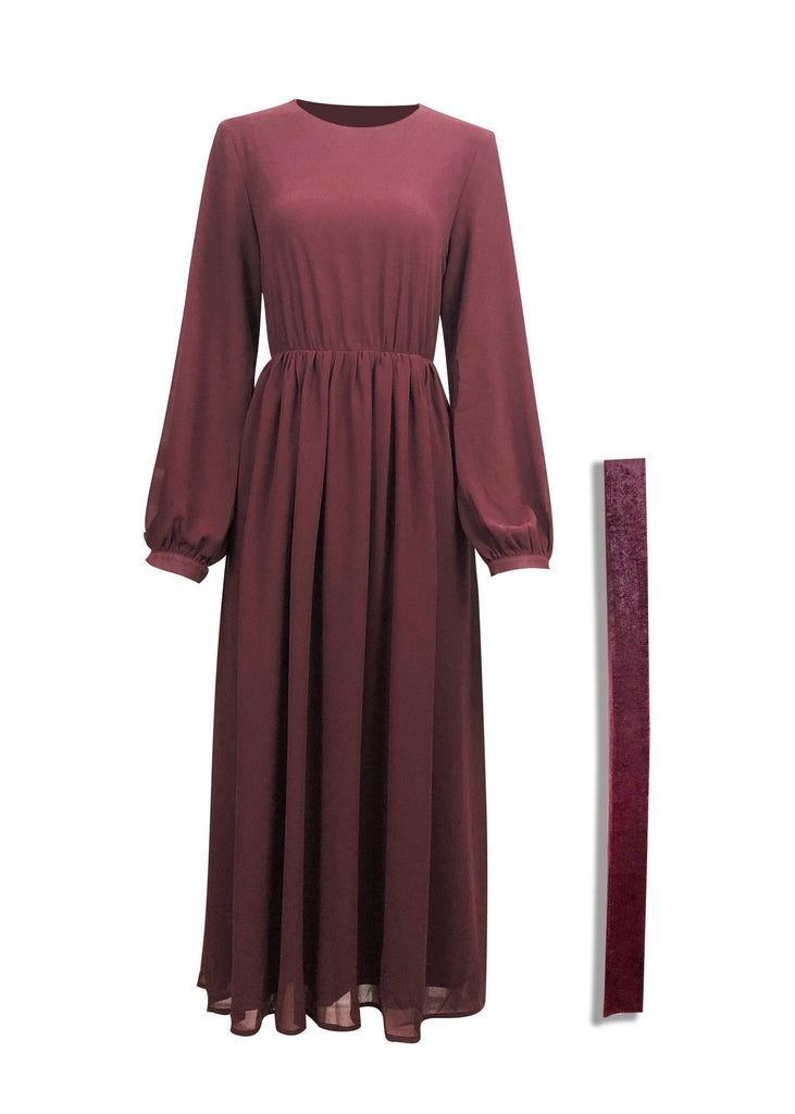Seraphina Maxi Dress - Ruby-Niswa Fashion