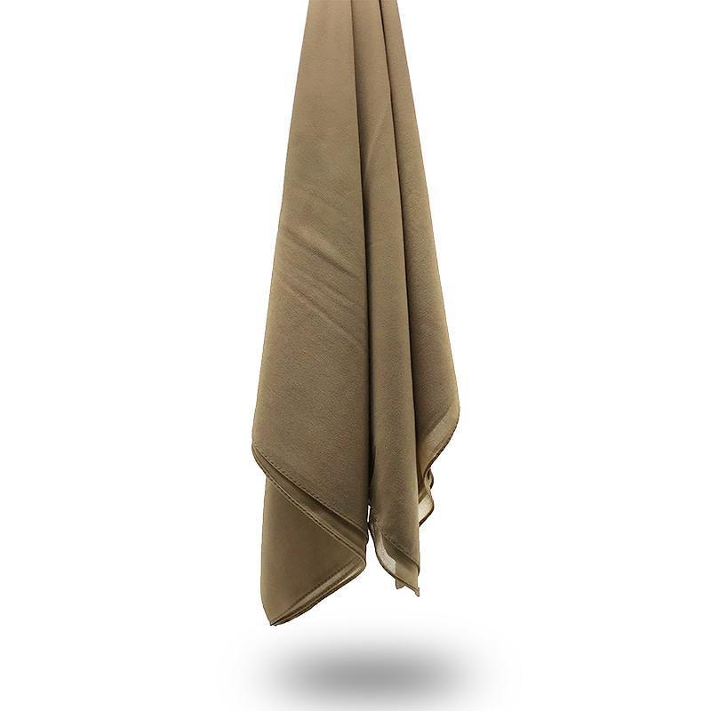 TOFFEE Georgette Chiffon Scarf-Niswa Fashion