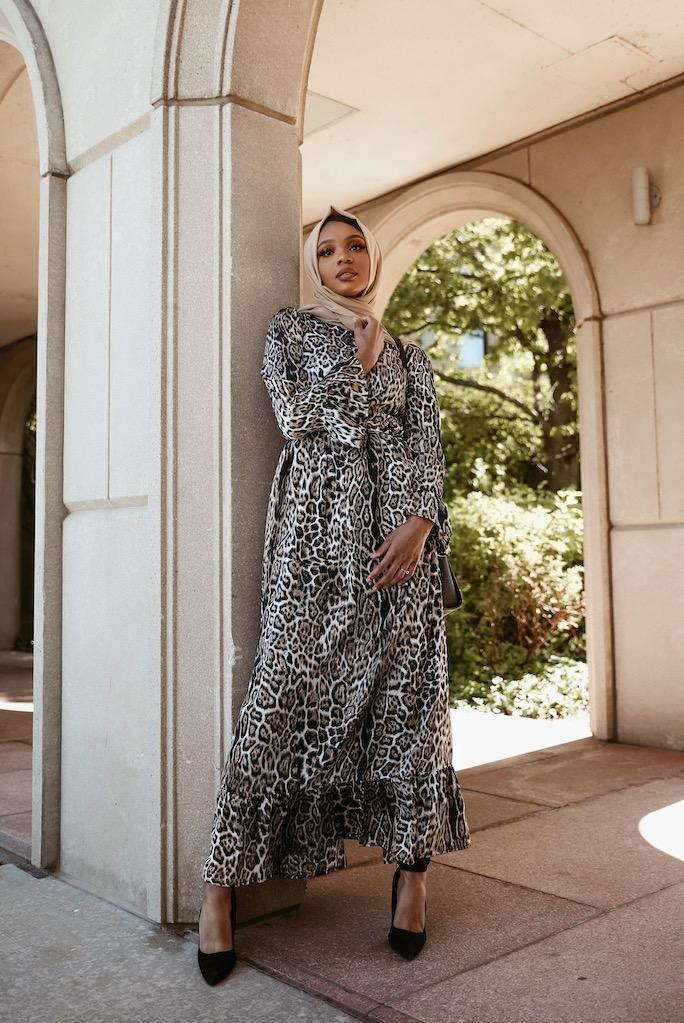Valentina Maxi Dress - Cheetah-Niswa Fashion