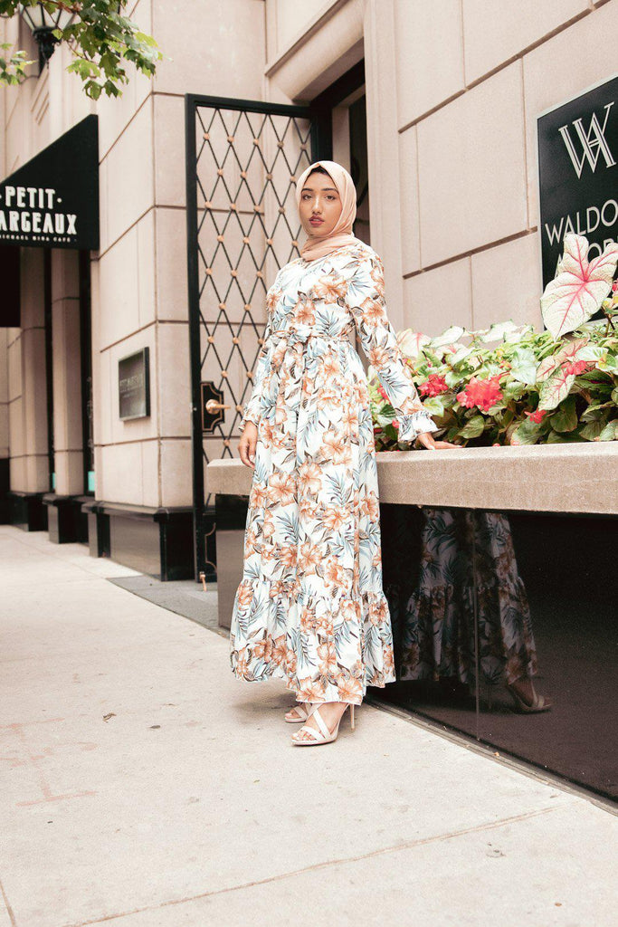 Victoria Maxi Dress-Niswa Fashion