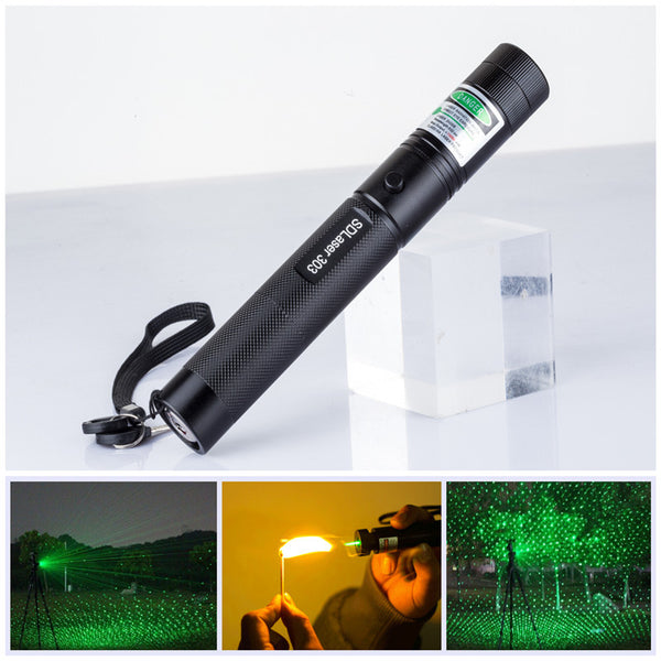 Professional 10000mw Burning High Powered Green Laser - BlisstechStore.com
