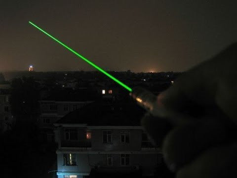 Professional 10000mw Burning High Powered Green Laser