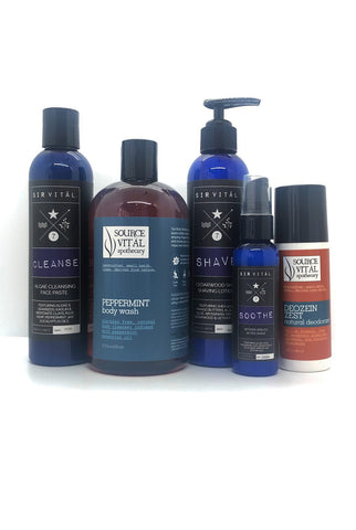Skin Shower Shave Kit