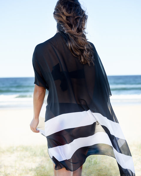 ST TROPEZ - CAPE - CAPE CAPRI Luxury Beach Capes, Kimonos & Cover Ups