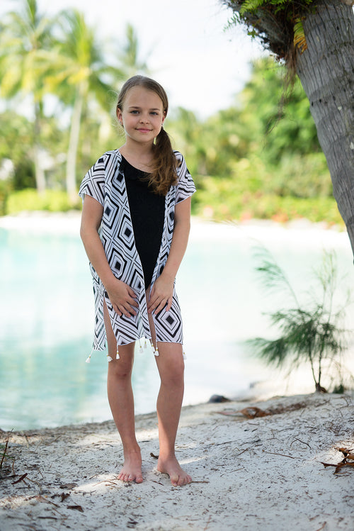 HAVANA - MINI CAPRI - CAPE CAPRI Luxury Beach Capes, Kimonos & Cover Ups