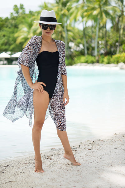 ZANZIBA - CAPE - CAPE CAPRI Luxury Beach Capes, Kimonos & Cover Ups