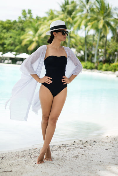 TULUM - CAPE - CAPE CAPRI Luxury Beach Capes, Kimonos & Cover Ups