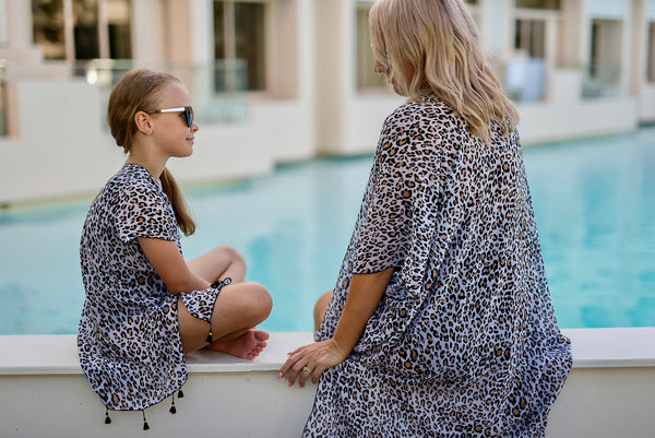 ZANZIBA - MINI CAPRI - CAPE CAPRI Luxury Beach Capes, Kimonos & Cover Ups