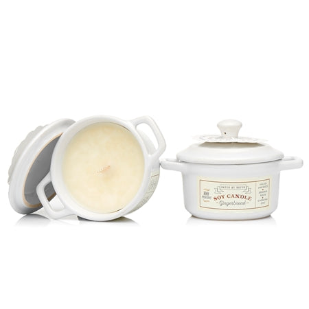Gingerbread Soy Candle in Cooking Pot