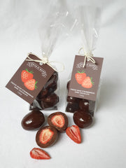 Dark Chocolate Freeze Dried Strawberries