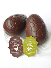 Dark Organic Chocolate Egg