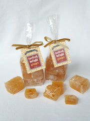 Ginger Turkish Delight