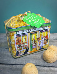 White Chocolate Macadamia Nut Cookie Tin