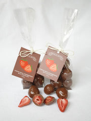 Milk Chocolate Freeze Dried Strawberries