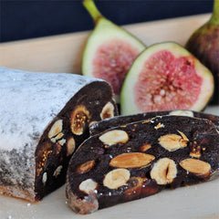Chocolate, Hazelnut and Fig Panforte
