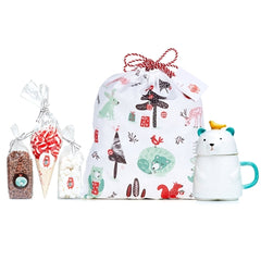 Ceramic Bear Hamper