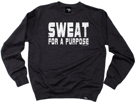 Personal Best - Sweat For A Purpose Sweatshirt Casual Funny Jogging Running Top