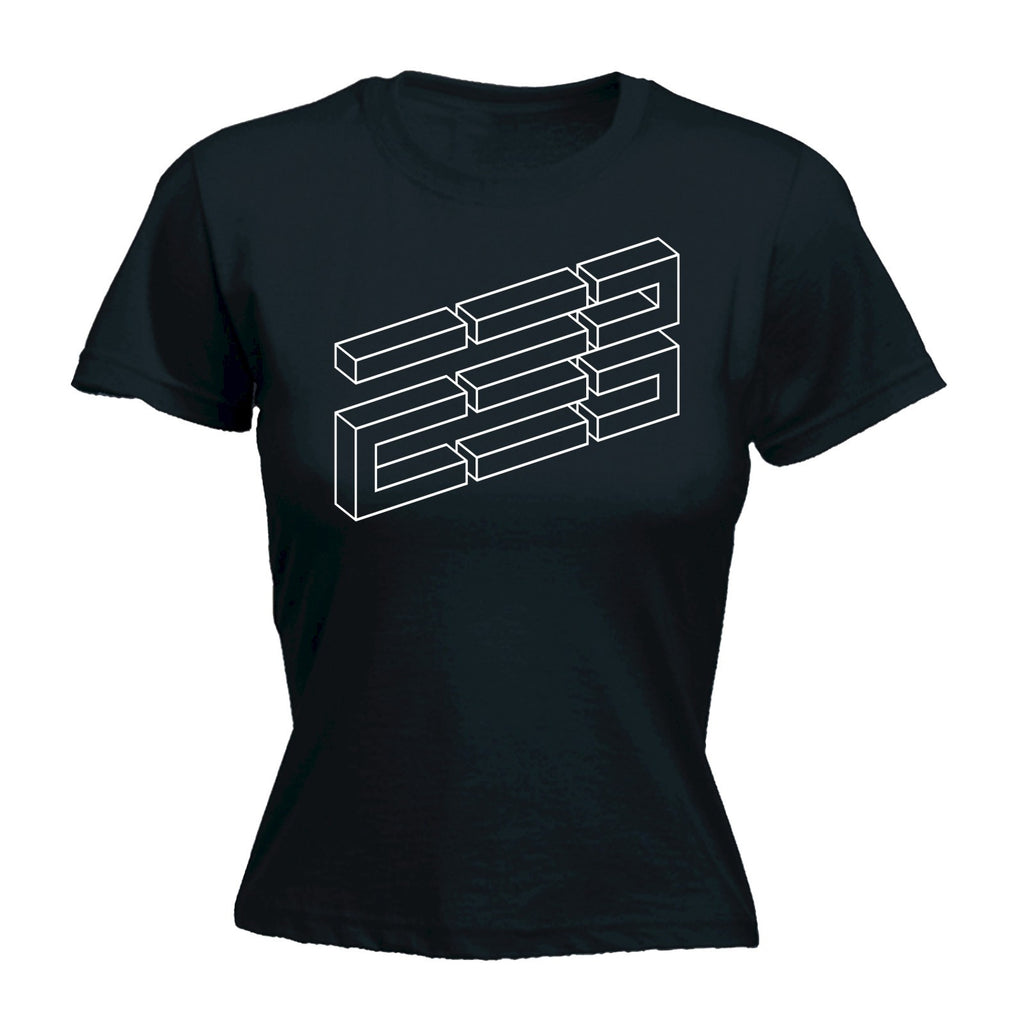 Brick Illusion - Women's FITTED T-SHIRT