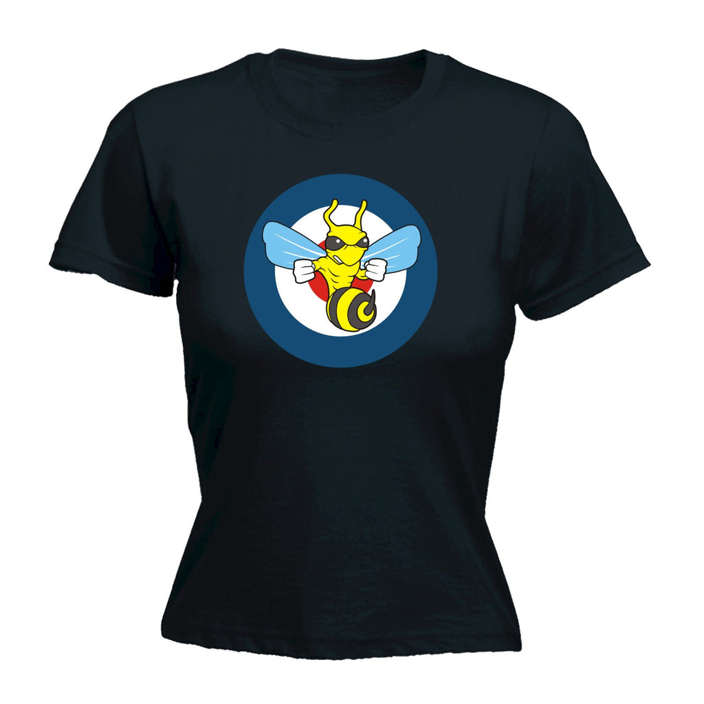 Women's TARGET FIGHTING WASP DESIGN - FITTED T-SHIRT