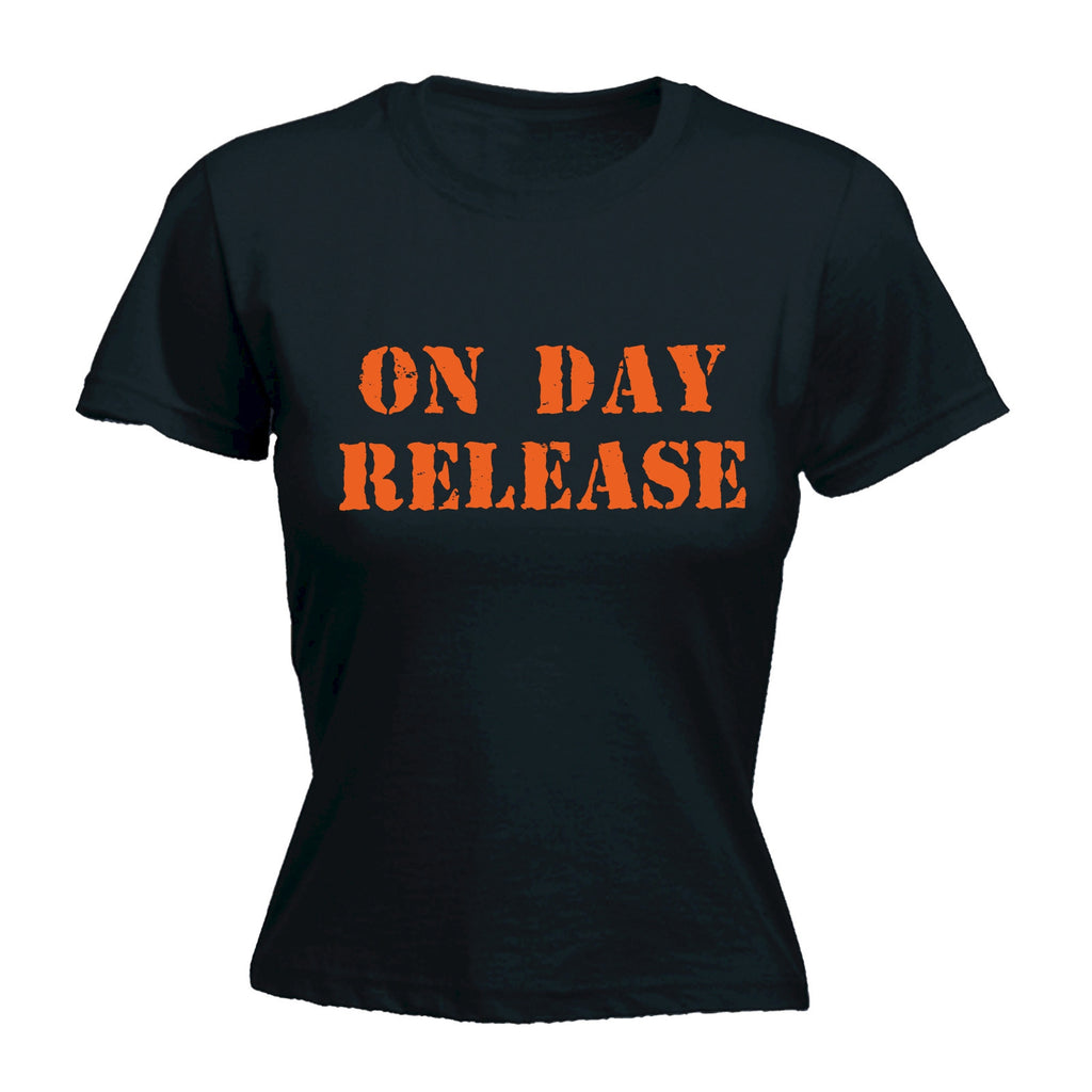 On Day Release ... Orange Logo - FITTED T-SHIRT