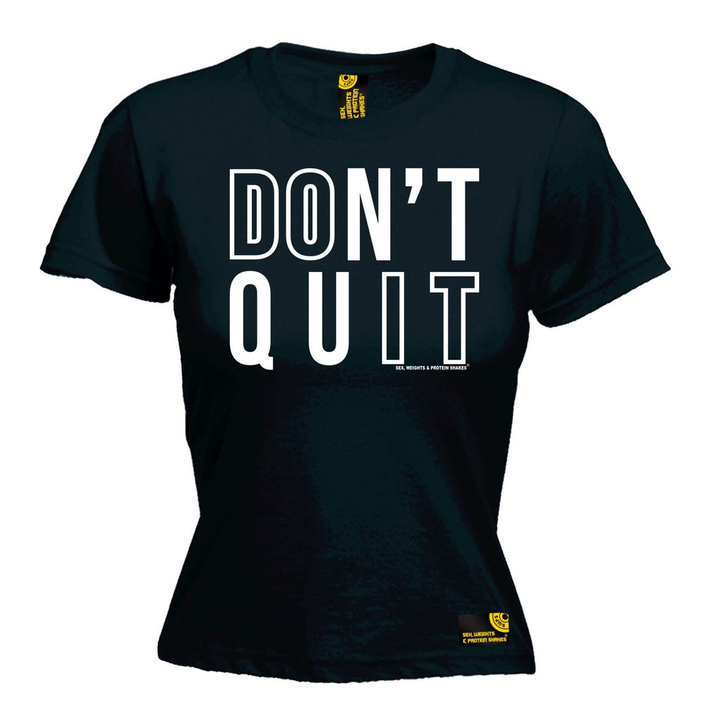 SWPS Premium -  Women's Don't Quit - FITTED T-SHIRT