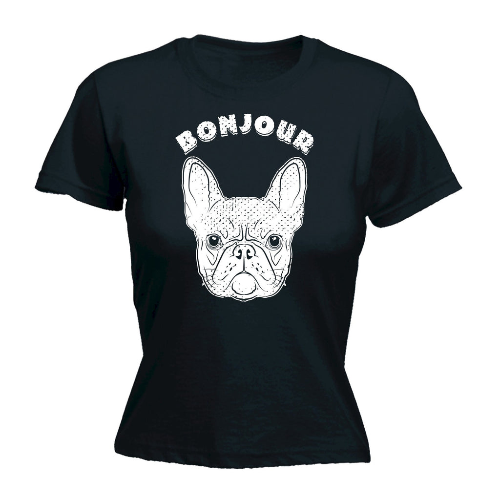 Bonjour Frenchie - Women's FITTED T-SHIRT