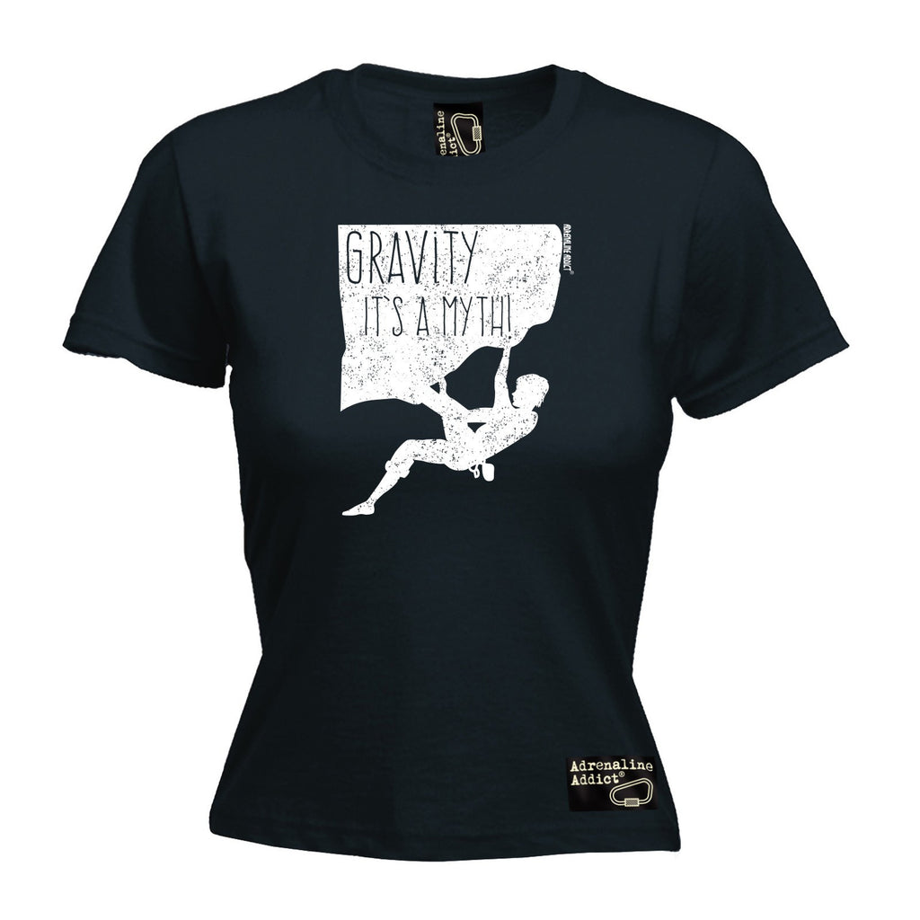 Adrenaline Addict Premium Women's Gravity It's A Myth - FITTED T-SHIRT