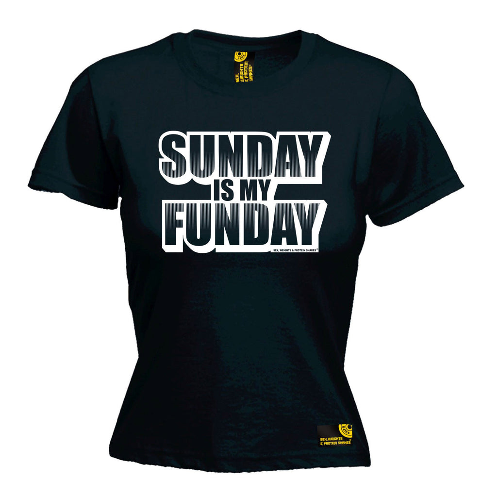 SWPS Premium -  Women's Sunday Is My Funday - FITTED T-SHIRT