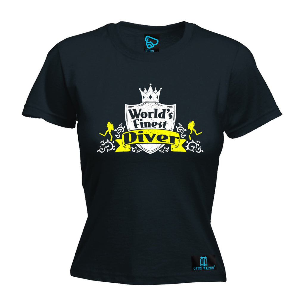 Open Water Women's World's Finest Diver - FITTED T-SHIRT