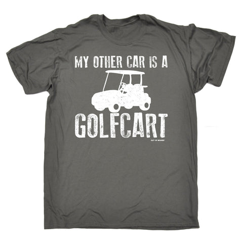 MY OTHER CAR IS A GOLFCART - NEW PREMIUM LOOSE FIT BAGGY T-SHIRT - funny slogan tee (VARIOUS COLOURS) - S M L XL 2XL 3XL 4XL 5XL - by Slogans