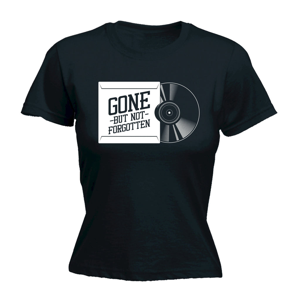 Gone But Not Forgotten ... Vinyl Sleeve - FITTED T-SHIRT
