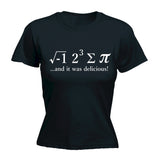 I Ate Sum Pi - Women's Fitted T Shirt - Maths Tee