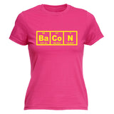 Bacon Elements  - Women's Fitted T Shirt