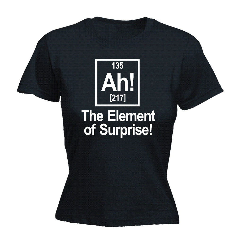 Ah! The Element Of Surprise - Women's Fitted T Shirt
