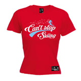 PM Premium Apres -  Women's Can't Stop Skiing - FIT T-SHIRT