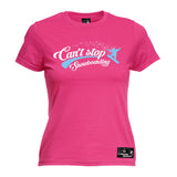 PM Premium Apres -  Women's Can't Stop Snowboarding - FIT T-SHIRT