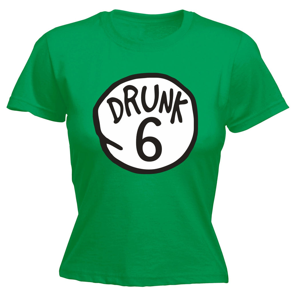 LADIES DRUNK - NEW PREMIUM FITTED T-SHIRT (VARIOUS COLOURS) - PLEASE MESSAGE US WHICH DRUNK YOU WOULD LIKE - by Slogans