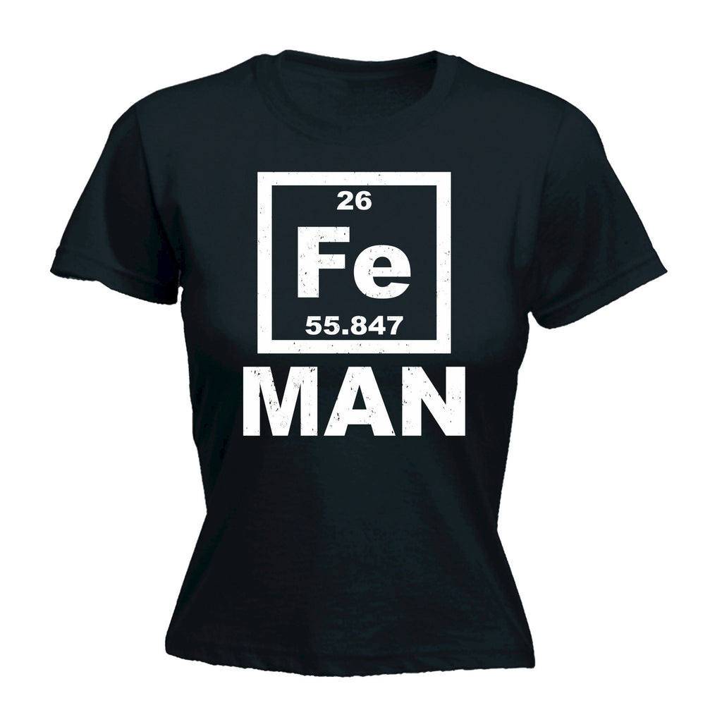 Women's Iron FE Periodic Elements - FITTED T-SHIRT