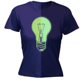Women's GID ... Light Bulb - FITTED T-SHIRT