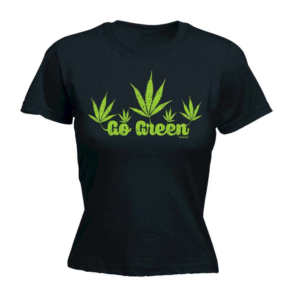 Women's GO GREEN DESIGN - FITTED T-SHIRT