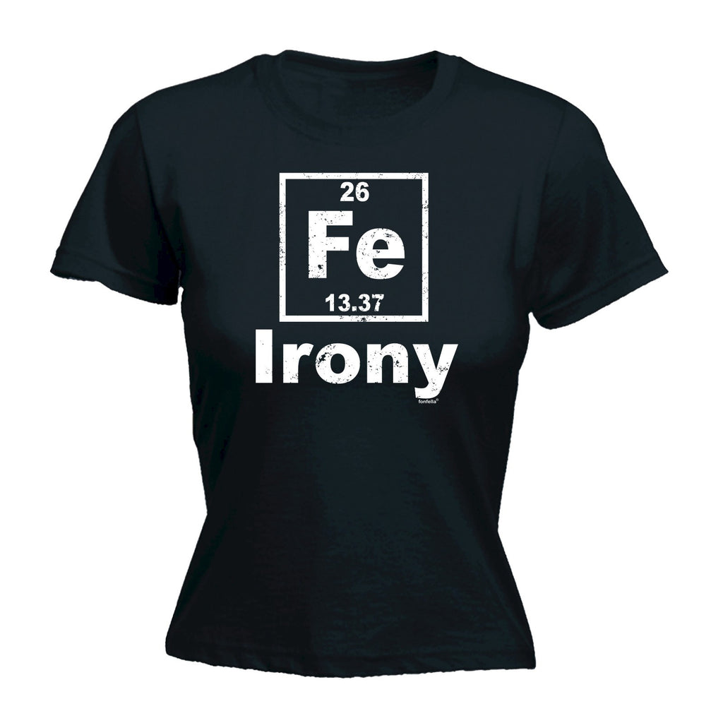 Women's FE IRONY DESIGN  - FITTED T-SHIRT