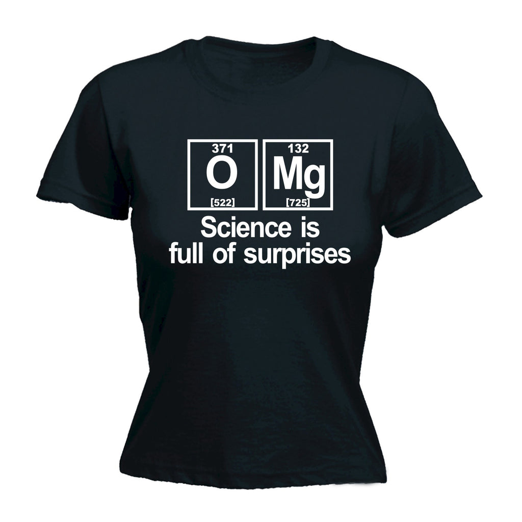 OMG Science Is Full Of Surprises Periodic Table - Women's Fitted T Shirt