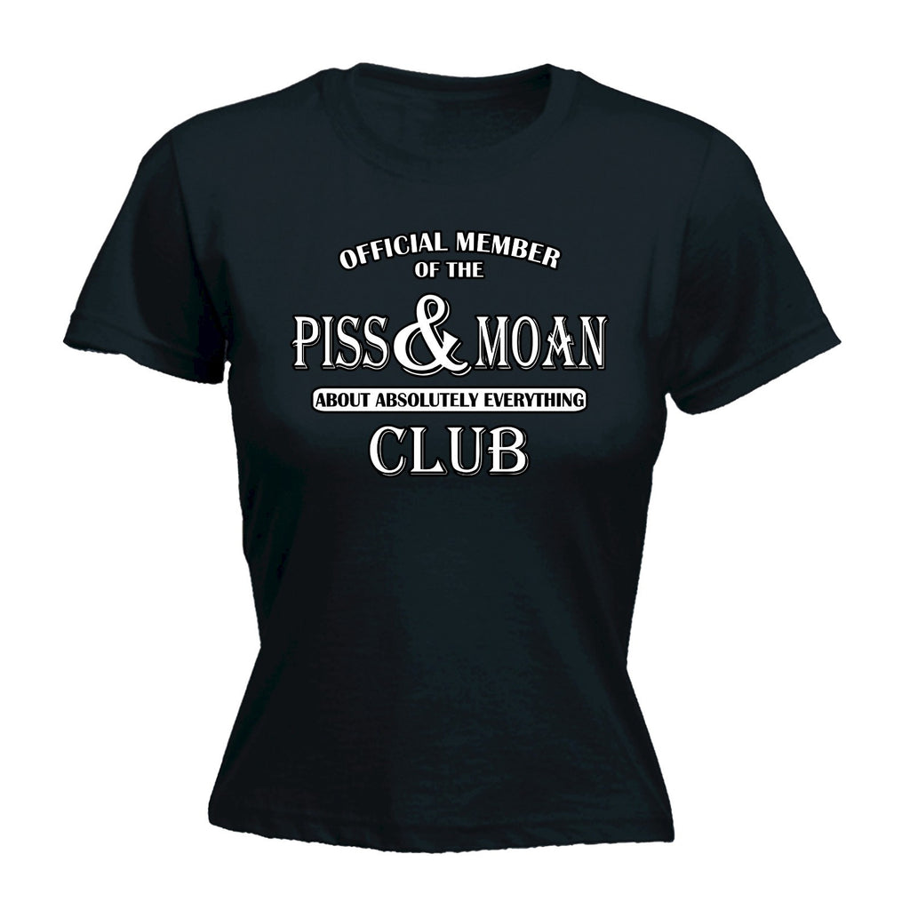 Slogans Women's OFFICIAL MEMBER ... ABSOLUTELY EVERYTHING CLUB - FITTED T-SHIRT