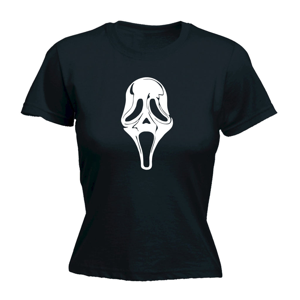 Slogans Women's SCREAMFACE - FITTED T-SHIRT