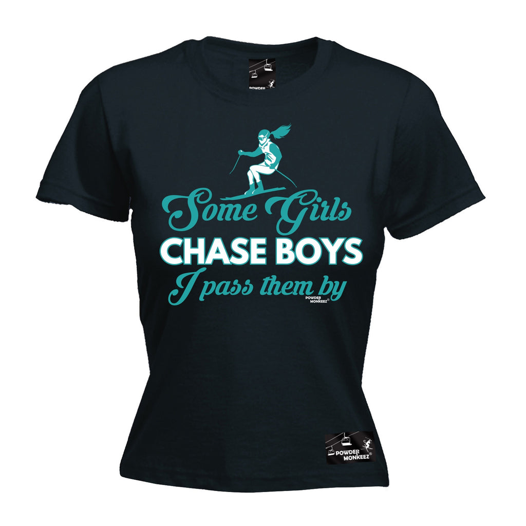 PM Premium Apres -  Women's Some Girls Chase Boys - FIT T-SHIRT