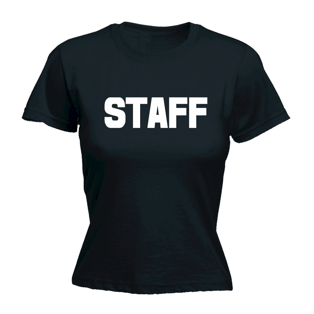 Staff ... Chest & Back - FITTED T-SHIRT