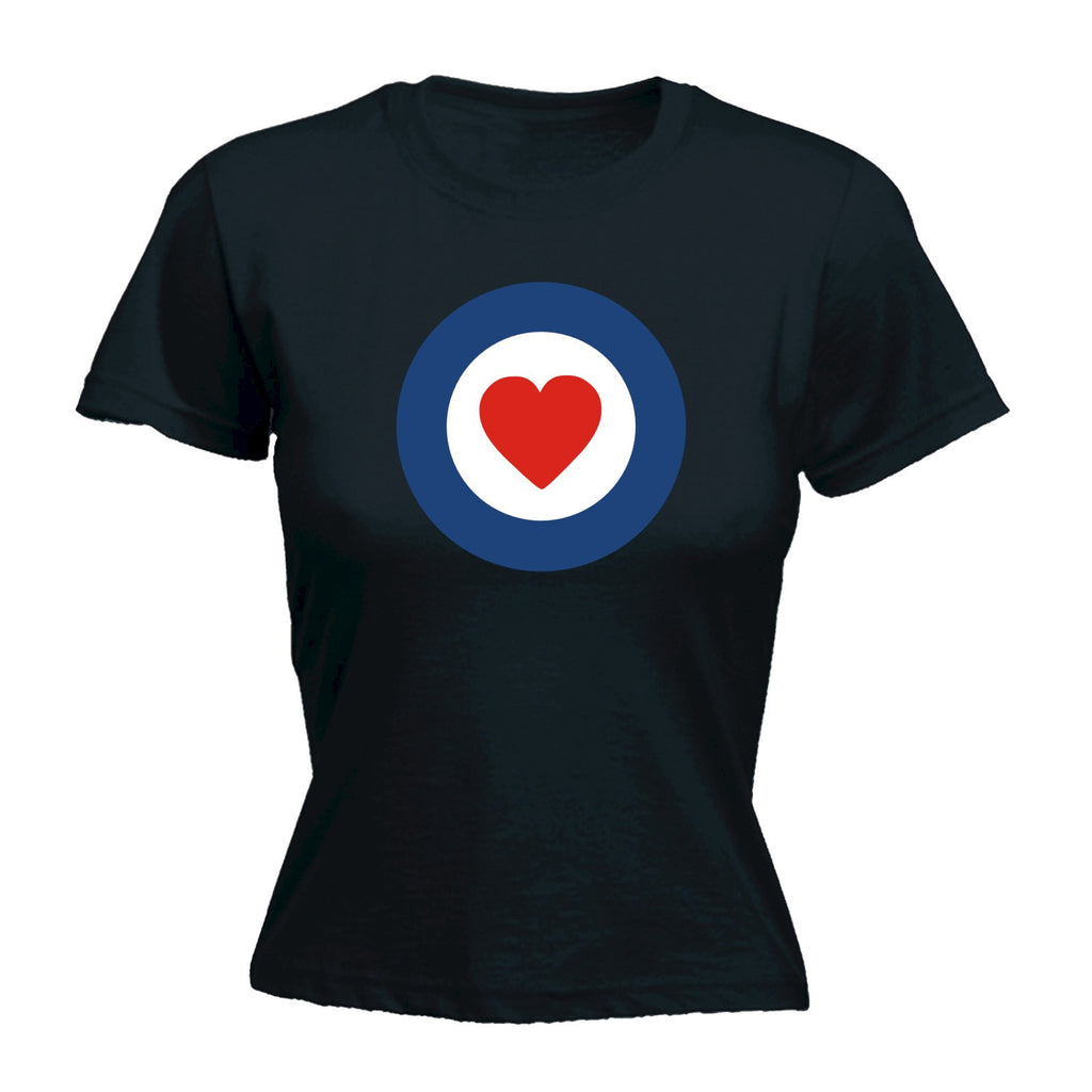 Women's TARGET HEART - FITTED T-SHIRT