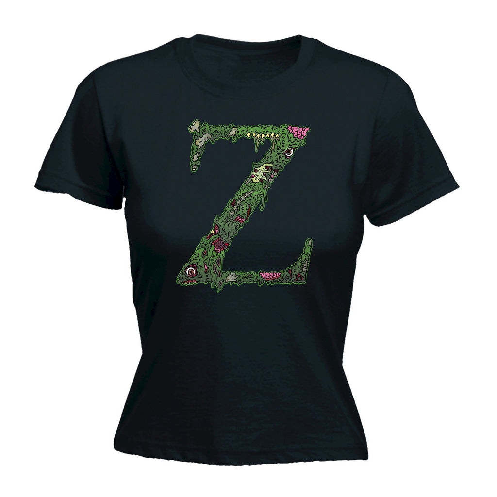 Z For Zombies - FITTED T-SHIRT