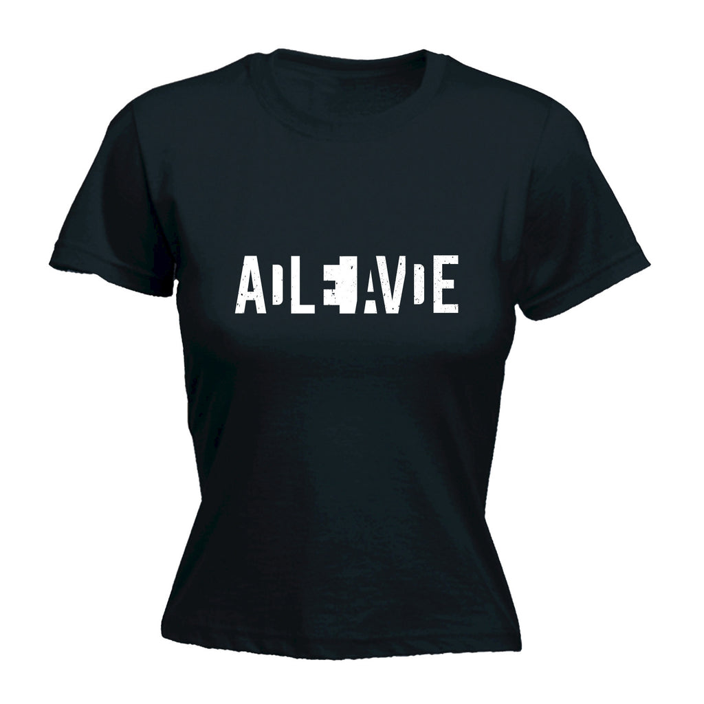 Women's DEAD OR ALIVE - FITTED T-SHIRT