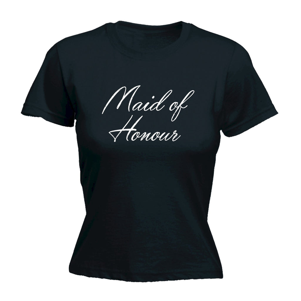 Women's MAID OF HONOUR - FITTED T-SHIRT